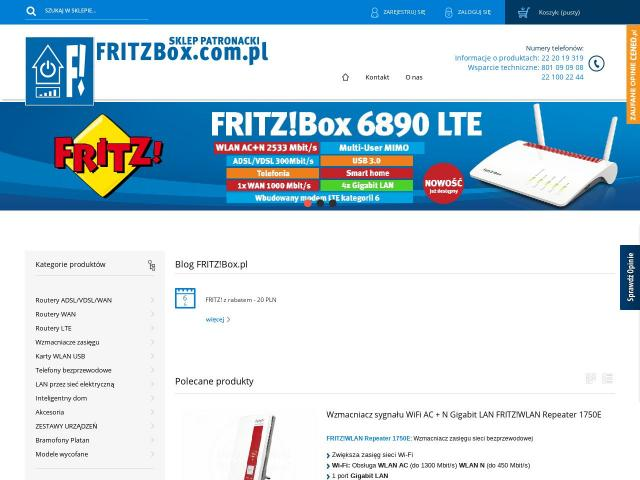 https://fritzbox.com.pl/routery-z-modemem-lte | Router